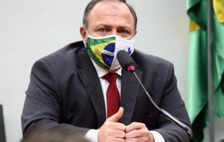 O ministro interino da Saúde, Eduardo Pazuello.| Foto: Najara Araujo/Câmara dos Deputados